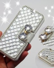 New-2015-3D-Luxury-Bling-Crystal-Diamond-Leather-Flip-Bag-Case-Cover-For-Apple-iPhone-5